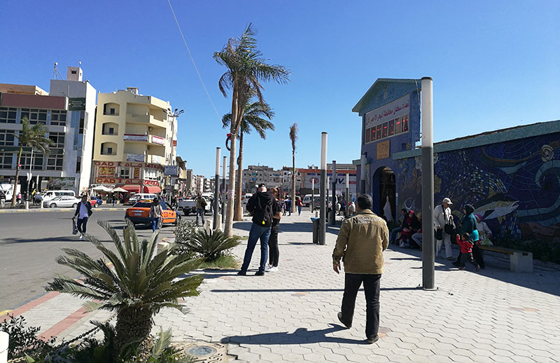 El Dahar square is the heart of El Dahar in Hurghada Egypt