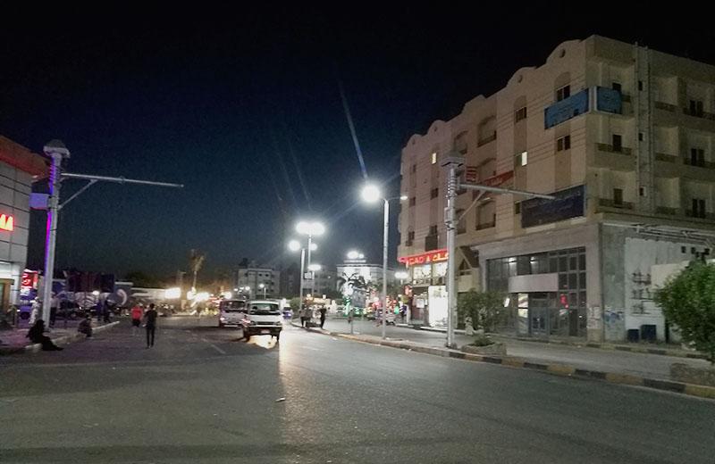 El Dahar am Abend