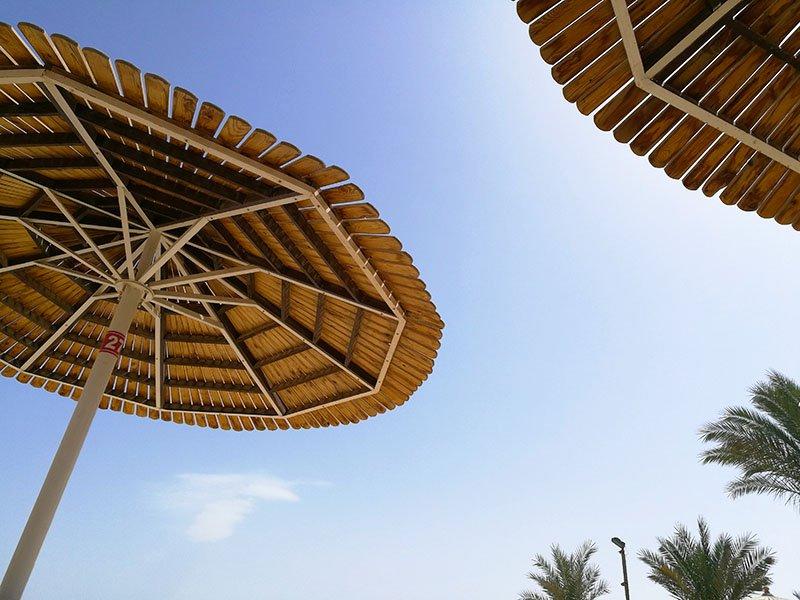 De bästa stränderna i Hurghada Egypten.