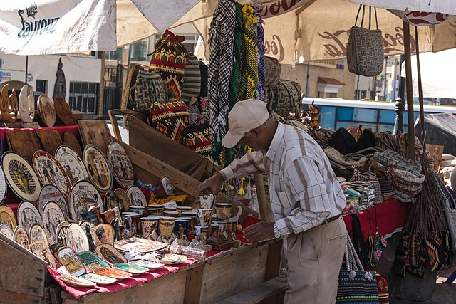 how to haggle. Souks and bazaars are the best places to improve haggling skills.