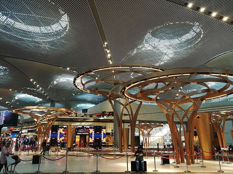 Istanbul Airport review (IS)