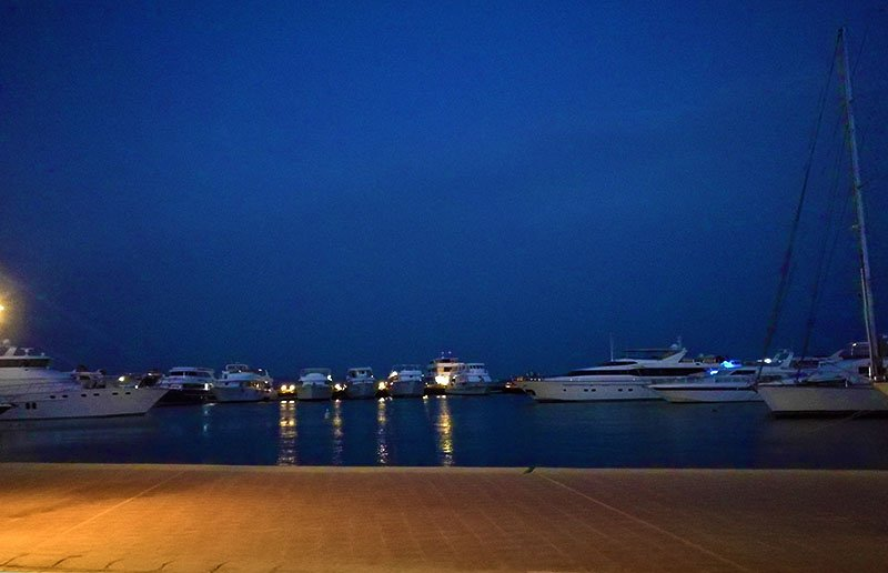 View from Hurghada Marina.