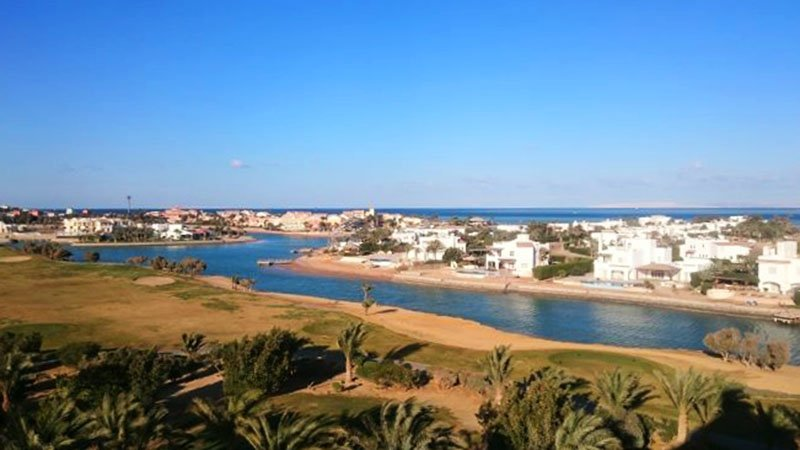 El Gouna Golf tower is a place visit when visiting in El Gouna. View from golf clubs' tower is amazing and totally worth visiting. El Gouna, Hurghada, Egypt, Ägypten, Egypten, Egipt, Egitto