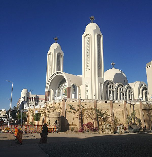 Hurghada orthodox coptic church.