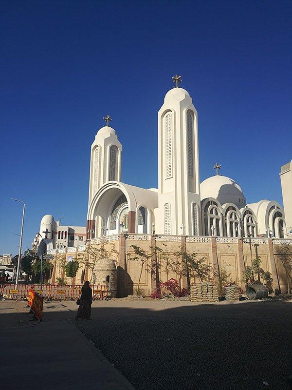 Biserica coptă ortodoxă Hurghada.