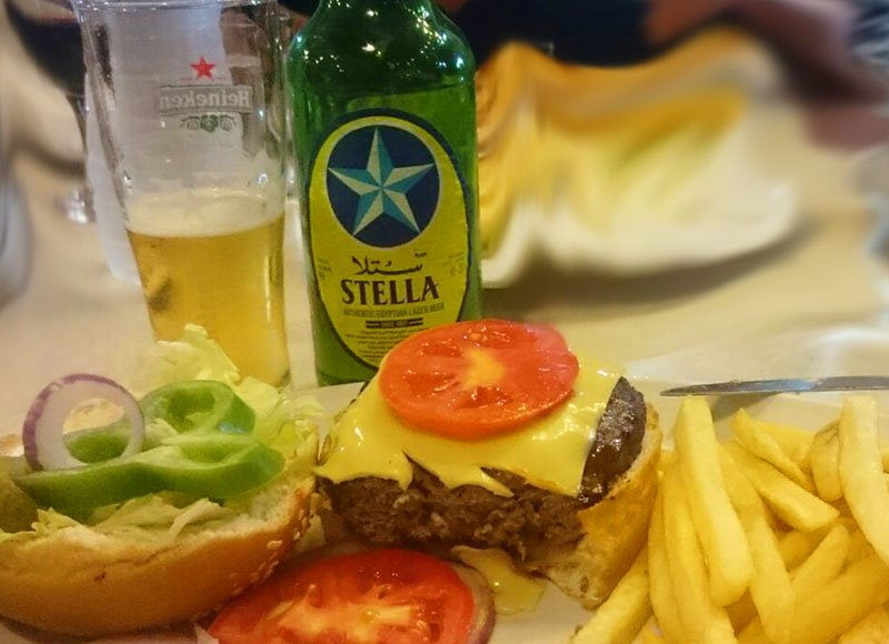 Bulls is one of the oldest and best restaurants in Hurghada Egypt.