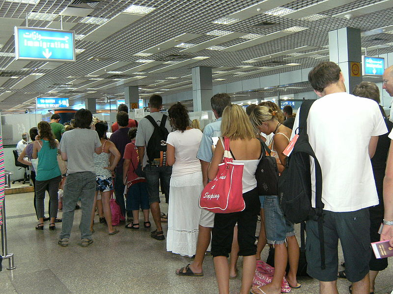 Hurghada Airport immigration. | Information about Hurghada Airport.