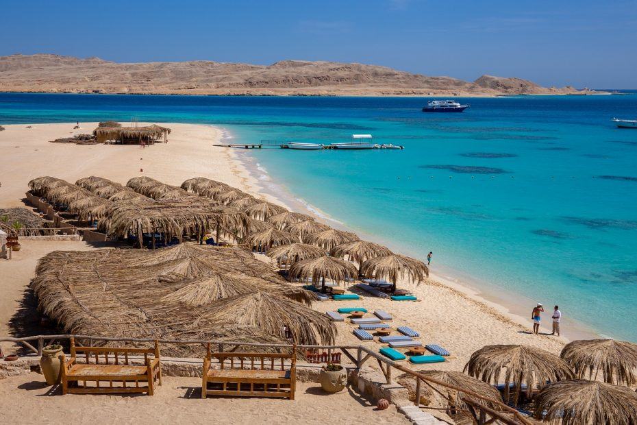 Giftun Islands Hurghada, Mahmya, Orange Bay & paradis ön